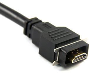 Влазгозащищенный HDMI